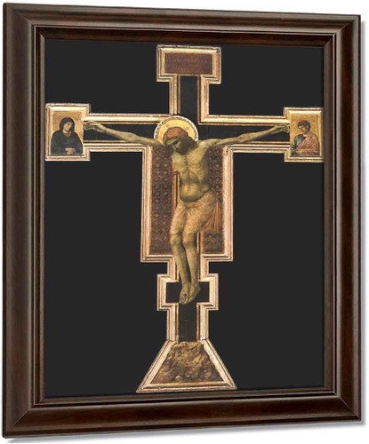 Crucifix4 By Giotto Di Bondone