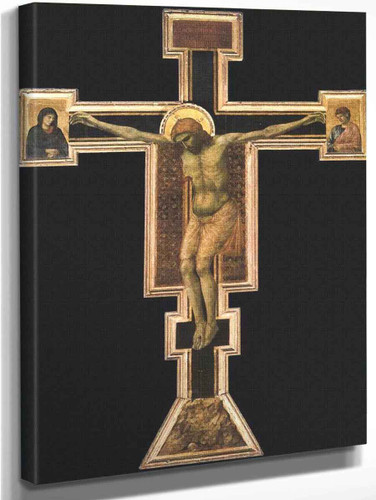 Crucifix4 By Giotto Di Bondone By Giotto Di Bondone
