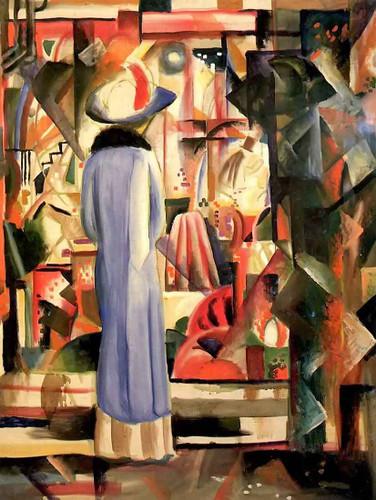 Big Bright Showcase By August Macke