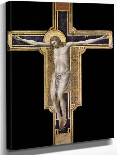 Crucifix By Giotto Di Bondone By Giotto Di Bondone