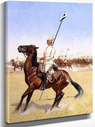 Cuirassiers By Frederic Remington