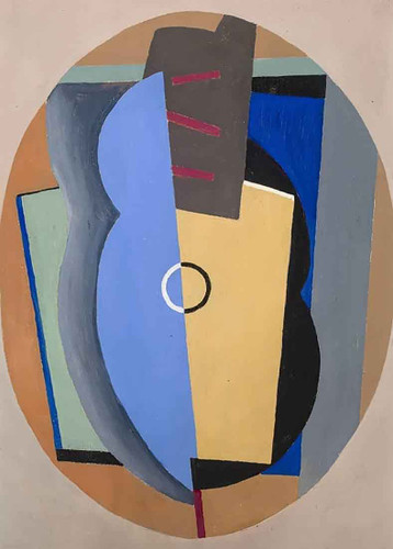 Composition I By Albert Eugene Gallatin