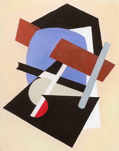 Composition V By Albert Eugene Gallatin
