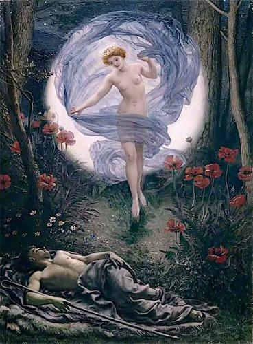 Diana And Endymion By Sir Edward John Poynter