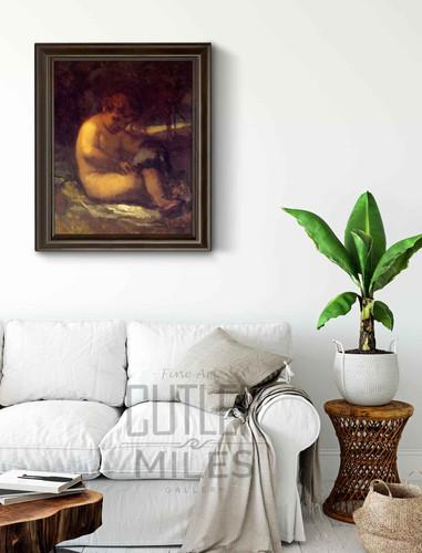 Cupid By William Morris Hunt