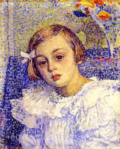 Elisabeth Van Rysselberghe 1 By Theo Van Rysselberghe