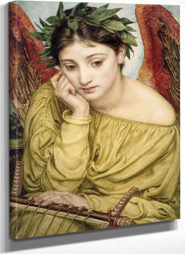 Erato Muse Of Poetry By Sir Edward John Poynter
