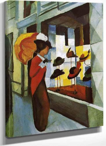 Hat Shop By August Macke