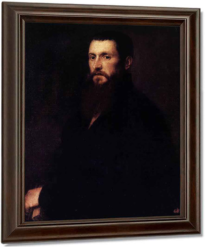 Daniele Barbaro By Titian Oil on Canvas Reproduction