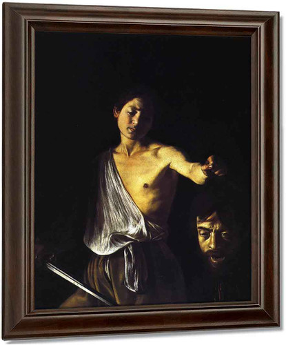 David With The Head Of Goliath 1 By Caravaggio