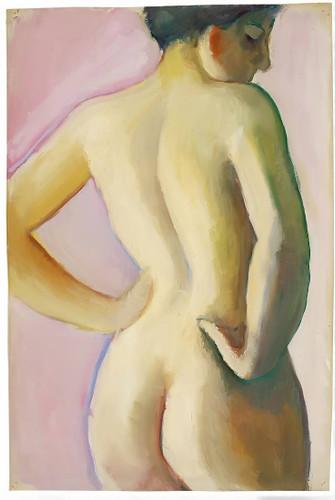 Nude By August Macke
