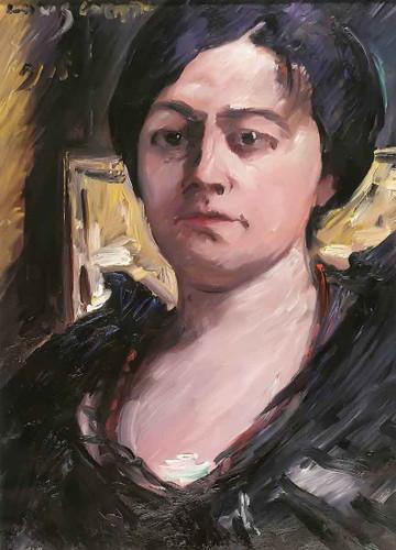 Portrait Of Charlotte Corinth By Lovis Corinth