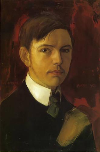Self Portrait By August Macke