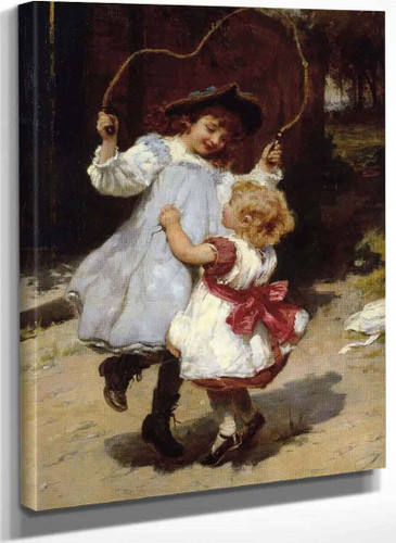 Skipping By Frederick Morgan