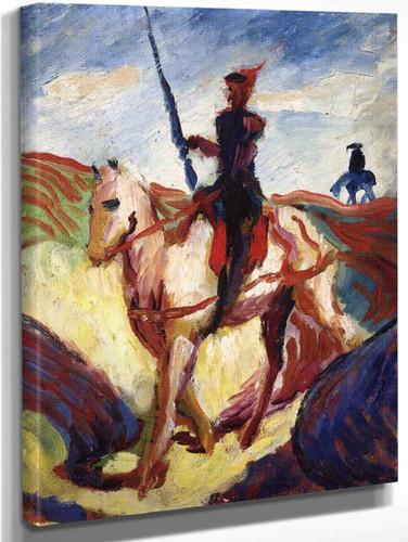 Don Quixote By August Macke