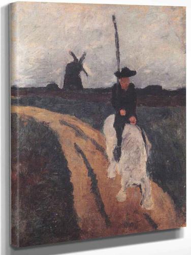 Don Quixote By Paula Modersohn Becker