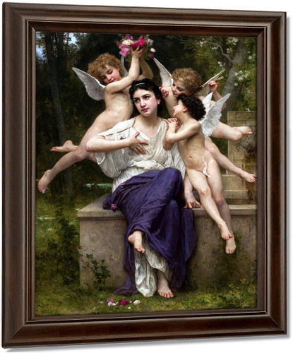 Dream Of Spring By William Bouguereau