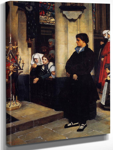 During The Service By James Tissot