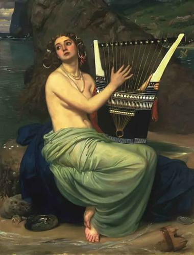 The Siren By Sir Edward John Poynter