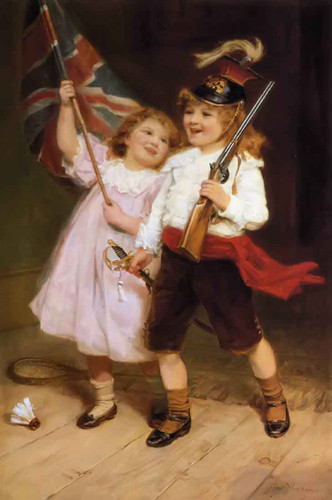 The Toy Parade By Frederick Morgan