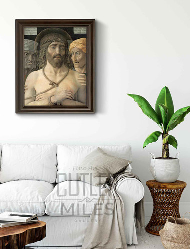 Ecce Homo. By Andrea Mantegna