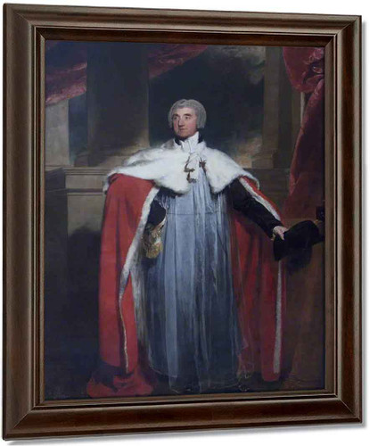 Edward Venables Vernon Harcourt, Archbishop Of York By Sir Thomas Lawrence