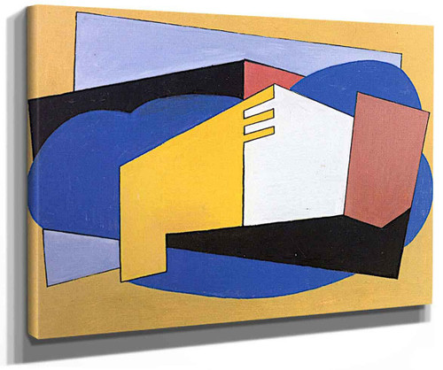 Abstract Composition By Albert Eugene Gallatin