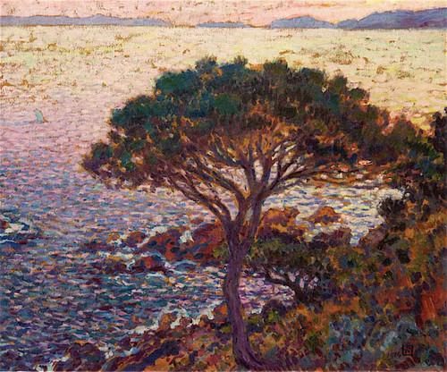 Cap Benat Pine On The Coast By Theo Van Rysselberghe