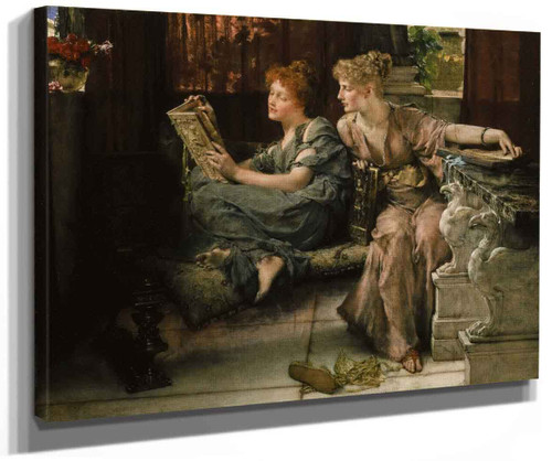 Comparisons By Sir Lawrence Alma Tadema