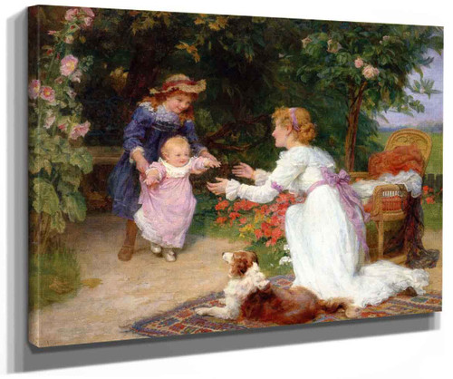 First Steps By Frederick Morgan