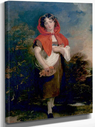 Emily Anderson As Little Red Riding Hood By Sir Thomas Lawrence