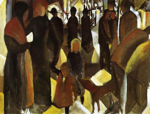 Leave Taking By August Macke
