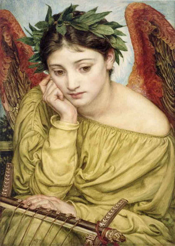Erato, Muse Of Poetry By Sir Edward John Poynter