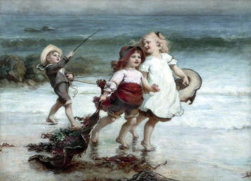 Sea Horses By Frederick Morgan