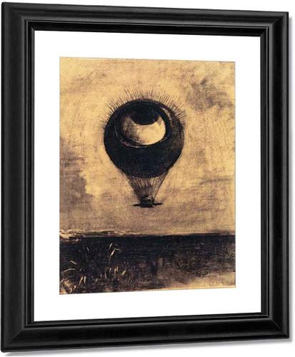 Eye Balloon By Odilon Redon