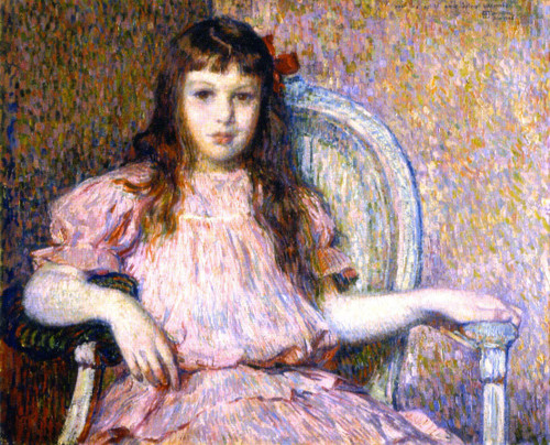 Sylvie Lacombe By Theo Van Rysselberghe