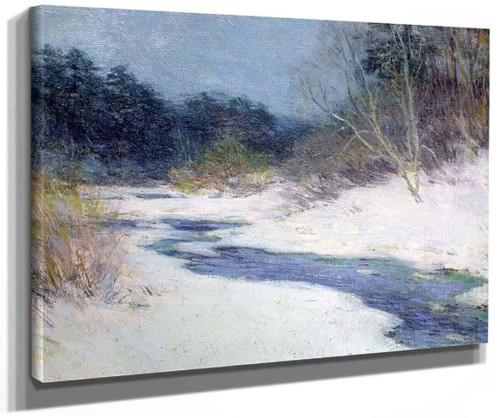 Thawing Brook (No. 3) By Willard Leroy Metcalf