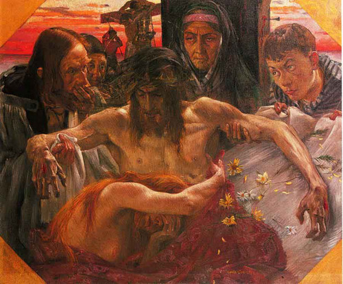 The Deposition By Lovis Corinth