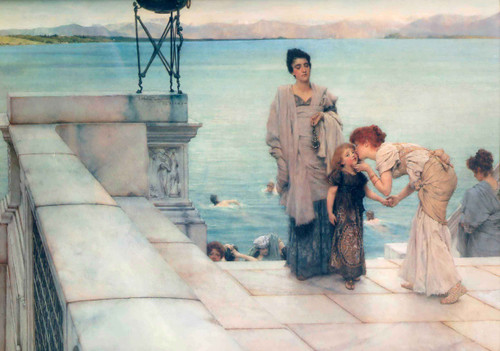 The Kiss By Sir Lawrence Alma Tadema