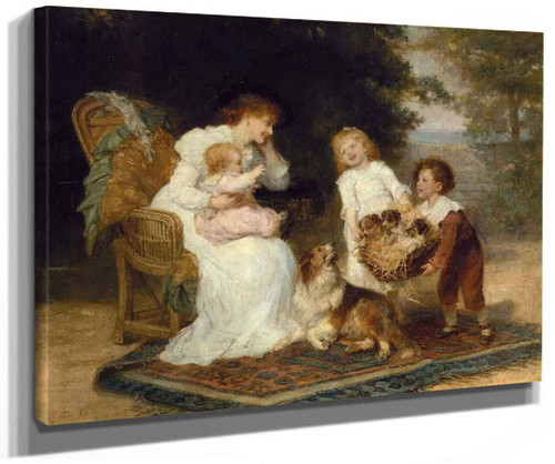 The Little Strangers By Frederick Morgan