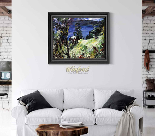 Walchensee Landscape By Lovis Corinth