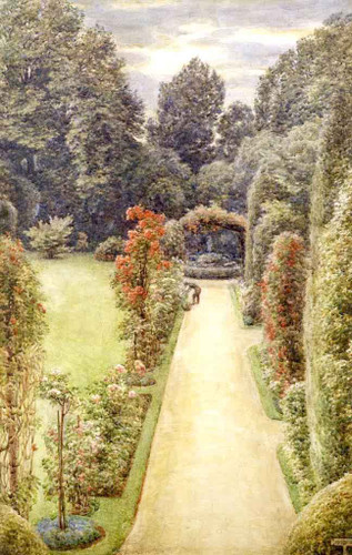 A Country Garden By Sir Edward John Poynter