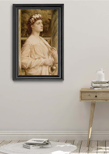 A Vestal Portrait Of Miss Violet Lindsay By Sir Edward John Poynter