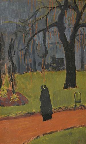 A Walk In The Park By Paul Serusier