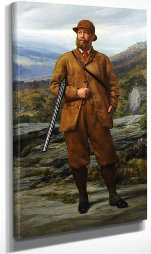 Edward Montagu Stuart Granville Montagu Stuart Wortley Mackenzie (1827–1899) 1St Earl Of Wharncliff By Sir Edward John Poynter