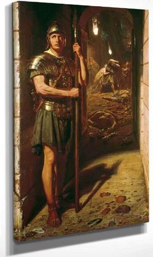 Faithful Unto Death By Sir Edward John Poynter