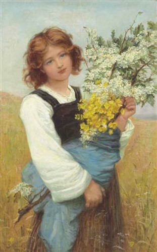Spring Flowers By Frederick Morgan