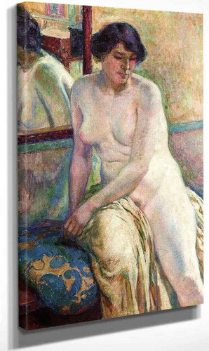 Venetian Woman I (Also Known As Marcella) By Theo Van Rysselberghe