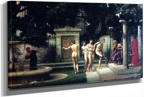 A Visit To Aesclepius by Sir Edward John Poynter