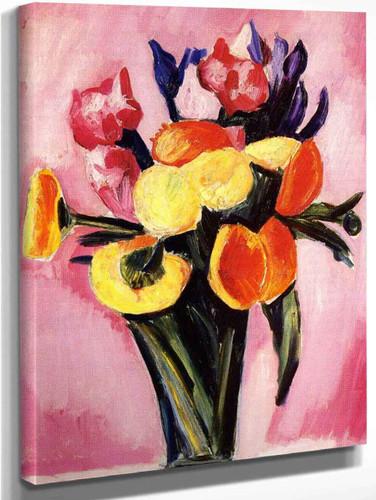 Flower Still Life By Marsden Hartley
